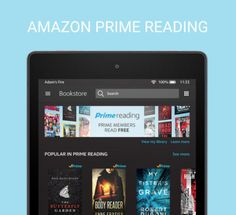 Amazon Prime members can now access for free a rotating selection of top #Kindle books, magazines & comics