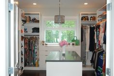 Master bedroom closet sugarplumsisters.com
