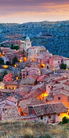 An amazing photo of Albaraccin, Spain. Spain is such a beautiful country! — Join us at devourtours.com to see, smell, eat and drink the best that this country has to offer!