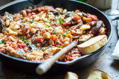 30-Minute Tuscan White Bean Skillet