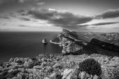 Formentor (Black and White version) by Xavier Barceló on 500px