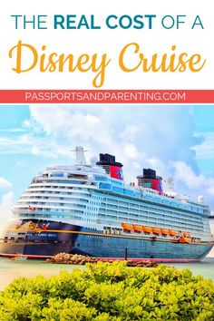 Do you want to go on a Disney Cruise but not quite sure about the real cost? I am going to share how to save on a Disney Cruise so you can figure out your Disney Cruise Line Budget the right way. These tips will help you determine ALL of the costs associa Best Cruise, Cruise Tips, Cruise Travel, Cruise Vacation, Disney Travel, Vacation Packing, Disney Cruise Ships, Disney Hotels, Disney Vacations