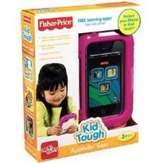 Fisher Price Kid Tough Apptivity iPhone iPod Case Protector Cover NEW NIP NIB #FisherPrice