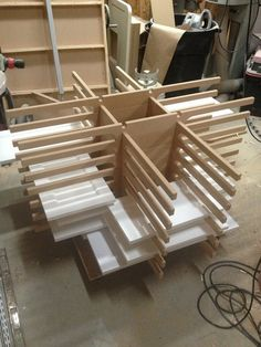 Painting rack for cabinet doors, etc. | things to make | Pinterest ...