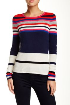 Jolanta Printed Wool Blend Sweater by Diane von Furstenberg on @nordstrom_rack