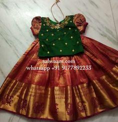 Baby Girl Frocks, Frocks For Girls, Little Girl Dresses, Baby Dresses, Girls Frock Design, Baby Dress Design, Kids Lehanga Design, Kids Dress Wear, Kids Gown