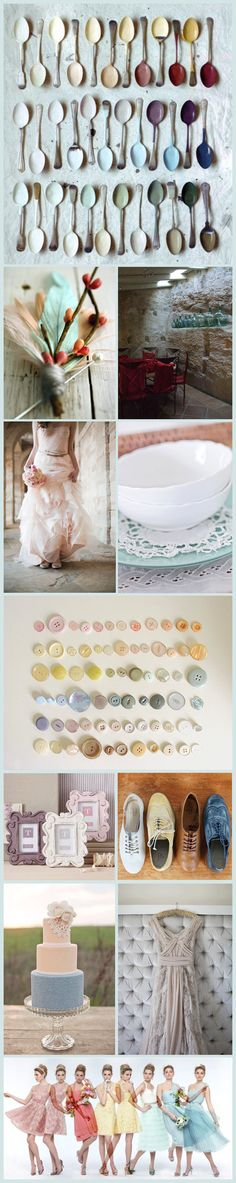 The new dusty chalky pastels for 2013. Everything inside this pic, I love it...