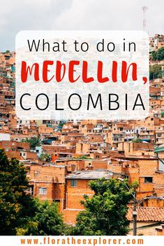 Worried about your safety in Colombia? This guide to Medellin explains where to go & what to do for a fantastic visit in this gorgeous Colombian city! Visit Colombia, Colombia Travel, Brazil Travel, Peru Travel, Backpacking South America, South America Travel, South America Destinations, Travel Destinations, Amazing Destinations
