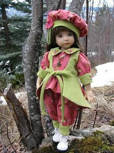 """Spring Serenity by Tuula Fits Dianna Effner 13"""" Little Darling to A """"T"""" 