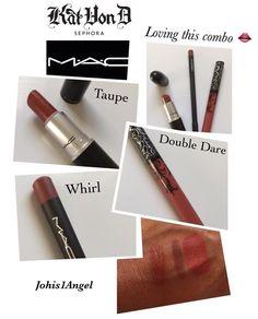 Love, love, love 💄 the perfect combo 😍 Double Dare, Sephora, Taupe, Lipstick, Love, Beauty, Beige, Amor, Lipsticks