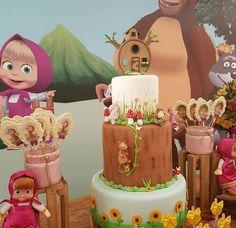 Créditos: @festejandosonhos 3 Ideias para Festa Infantil Masha e o Urso