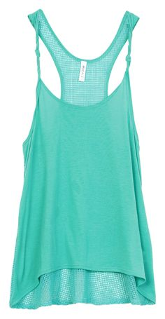 Live the color Turquoise Tank Top