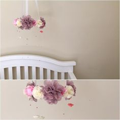 Baby MobileCrib MobileFloral MobileBaby Chandelier by LObunagalow