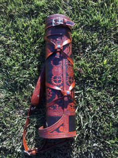 Custom Ranger Quiver with a varied Steampunk Theme from http://rasherquivers.com/