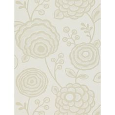 Buy Harlequin Beatrice Wallpaper, White, 110136 Online at johnlewis.com