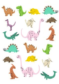 one Dino and me by Jamie Oliver Aspinall, via Behance Contemporary art Dinosaur Art, Cute Dinosaur, Easy Dinosaur Drawing, Dinosaur Stencil, Dinosaur Template, Art And Illustration, Jurassic World Poster, Illustrator, Poster Print