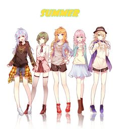 Anime Girl Pink, Cute Anime Boy, Manga Girl, Pink Girl, Ensemble Stars, Cute Images, Anime Style, Anime Art, Character Design