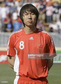 China's Li Tie poses ahead of the team's international football friendly match against the US 02 June 2007 in San Jose California Clint Dempsey and...
