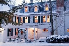 Enjoy the perfect New England Christmas getaway during Holiday Week December 26-30th. Great lodging deals, wine tastings, outdoor fun, historic mansion tours and more! #newengland #christmas