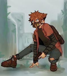 Sora Kingdom Hearts, Cry Anime, Anime Art, Drawing Reference Poses, Art Reference, Anime Lobo, Sora Kh, Kh 3, Girls Anime
