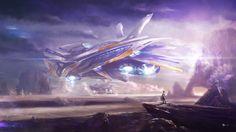 1920x1080 High Resolution Wallpaper = spaceship