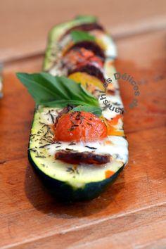 .^. légumes du sud, basilic, cuisiner la courgette, courgettes aux trois couleurs