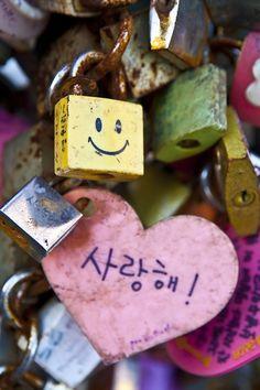 wayfaringphotos:    Locked Love, Namsan, Seoul, South Korea
