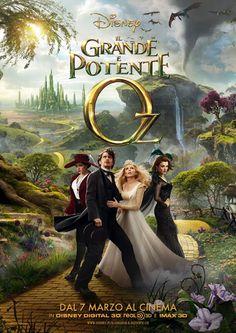 Il grande e potente Oz. Sam Raimi realizza un gran bel film.