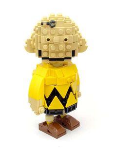20 Creative Lego Creations. LEGO Charlie Brown.