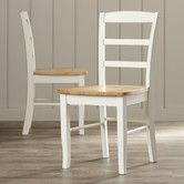 Found it at Wayfair - Roseberry Ladderback Side Chair