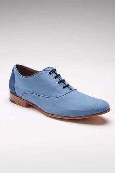 Parkaar Oxford Shoe Blue