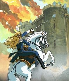Linda's Cel Gallery - Versailles no bara Manga Art, Manga Anime, Anime Art, Oscar Cartoon, Oscar Films, Lady Oscar, The Vampire Chronicles, Otaku, Animation