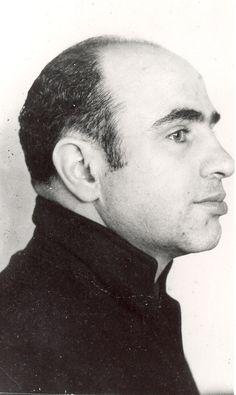 Al Capone. Alcatraz mugshot. C.1934