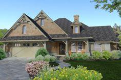 Houseplans.com Craftsman Front Elevation Plan #120-176