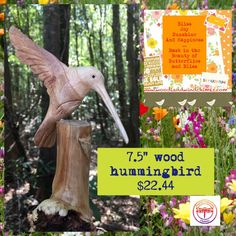 https://www.etsy.com/listing/477423699/wood-carved-hummingbird-infused-with https://www.etsy.com
