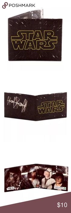 Dynomighty STAR WARS LOGO TYVEK MIGHTY WALLET Dynomighty star wars film STAR WARS LOGO MIGHTY WALLET made of tyvek DY-813  Brand new in package   PLEASE SEE MY OTHER DYNOMIGHTY WALLETS FOR OTHER GREAT DEALS Dynomighty Other