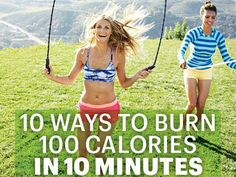 10 Ways to Burn 100 Calories in 10 Minutes | Yahoo Health