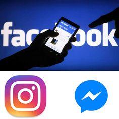 Facebook, Messenger e Instagram querem unificar as notificações dos seus aplicativos.