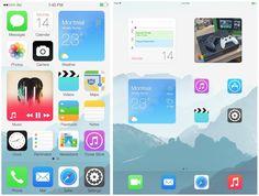 Home Screen Widget 'Blocks' Imagined in New iOS Concept - http://www.aivanet.com/2014/05/home-screen-widget-blocks-imagined-in-new-ios-concept/