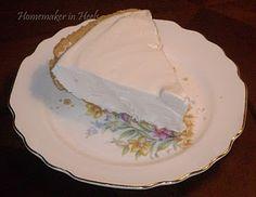 Lemon Ice Box Pie- sounds sweet and simple! My Grandma makes it w/graham cracker crust & it's soooo good!