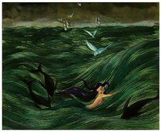 Kay Nielsen Little Mermaid The best vintage book illustrations lovingly curated at vintagebookillustrations.com