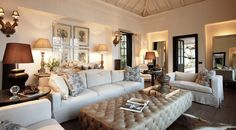 Casually sophisticated living room