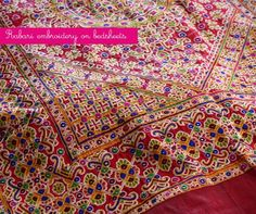 Intricate Rabari-Embroidery on Bed-Covers; from Kutch, India -- artnlight: http://artnlight.blogspot.com/2010/11/embroidery-from-kutch.html