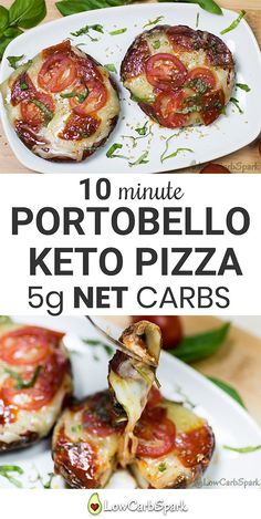Enjoy a portobello keto pizza with sacrificing the taste.The Portobello mushrooms are great as a low carb pizza crust because they don't interfere with the taste. This keto pizza recipe is also low in carbs, high in nutrients and super easy to make. It takes only 10 minutes to make a delicious keto lunch.