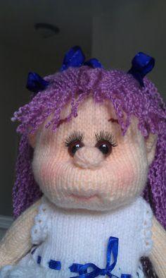 Anna doll. Knitted Dolls, Anna, Beanie, Hats, Fashion, Moda, Hat, Fashion Styles, Beanies
