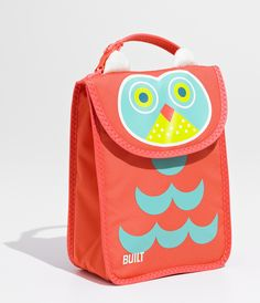 Insulated sides make this owl bag a wise choice. #SchoolSupplies