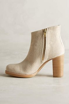 Ras Hana Canvas Booties - anthropologie.com