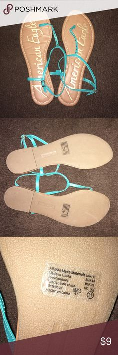 American Eagle sandals. New! Never worn. Size 11. American Eagle by Payless Shoes Sandals