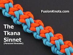 How to Make the Tkana Sinnet (Paracord) Bracelet by TIAT