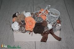 Őszi asztaldísz, őszi dísz (melcsiangel) - Meska.hu Gift Wrapping, Gifts, Diy, Gift Wrapping Paper, Presents, Bricolage, Wrapping Gifts, Do It Yourself, Favors